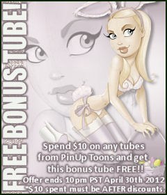 PinUp Toons Bonus Tube April 2012