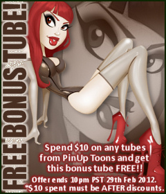 PinUp Toons Bonus Tube February 2012