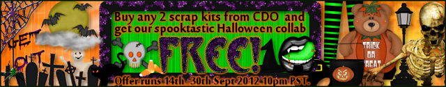 You can get this kit FREE if you buy any 2 CDO scrap kits until Sept 30th 2012 10pm PST.
