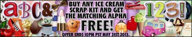 FREE Alphas - Scrap Friday Is Here!