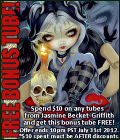 Jasmine Becket-Griffith Bonus Tube July 2012