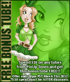 PinUp Toons Bonus Tube March 2011