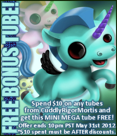 Cuddly Rigor Mortis Bonus Tube May 2012