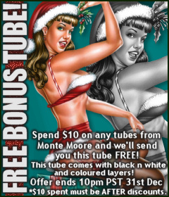 Monte Moore Bonus Tube December 2011