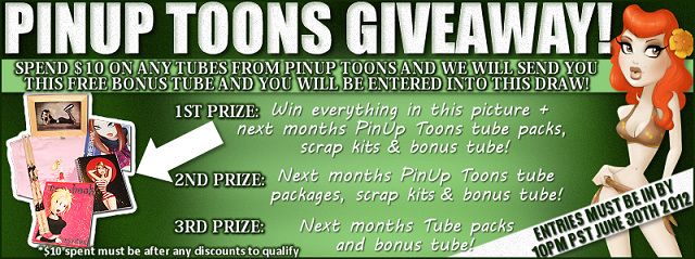 FREE BONUS TUBE & GIVEAWAY From PinUp Toons!!