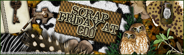 TGI CDO'S Scrap Friday!