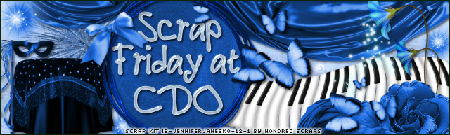 TGI's Scrap Friday at CDO!