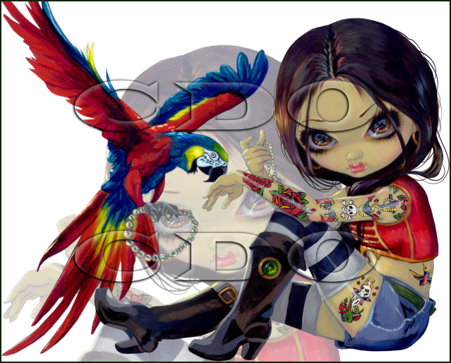 Jasmine Becket-Griffith Bonus Tube September 2012