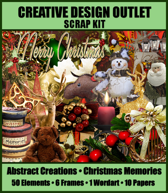 ScrapAbstract_ChristmasMemories