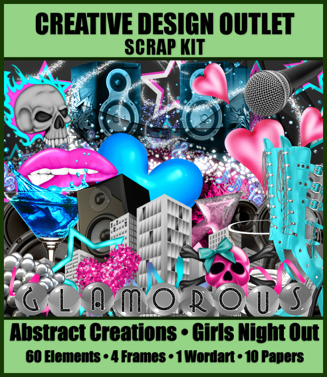 ScrapAbstract_GirlsNightOut