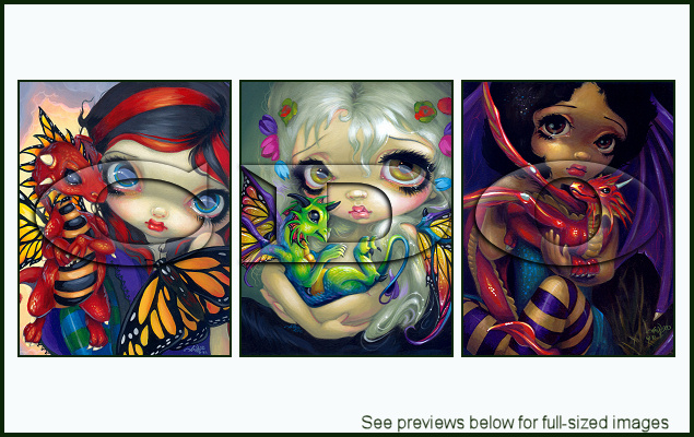 Jasmine Becket-Griffith Package 136