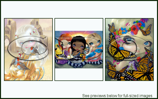 Jasmine Becket-Griffith Package 138