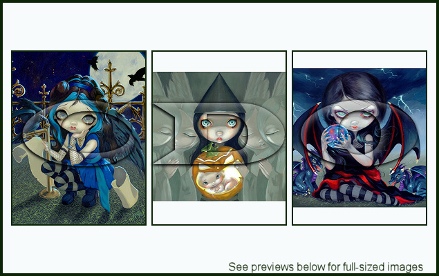 Jasmine Becket-Griffith Package 143