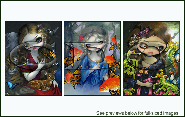 Jasmine Becket-Griffith Package 144