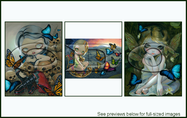 Jasmine Becket-Griffith Package 146