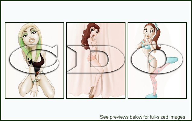 PinUp Toons Package 142