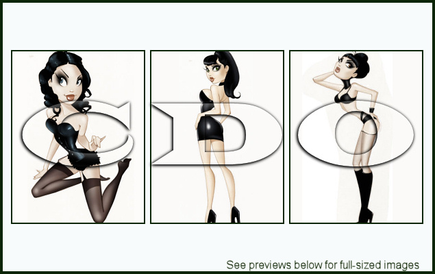 PinUp Toons Package 153