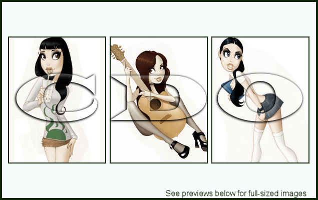 PinUpToons Package 155