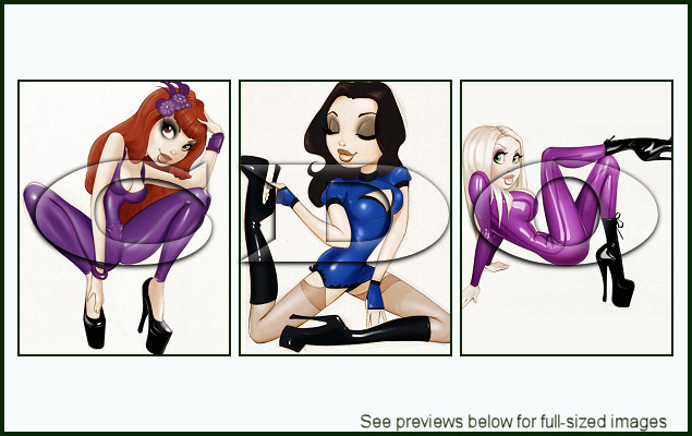 PinUp Toons Package 177