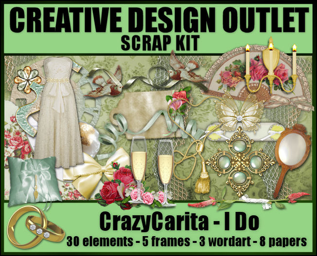 ScrapCrazyCarita_I Do-Mini