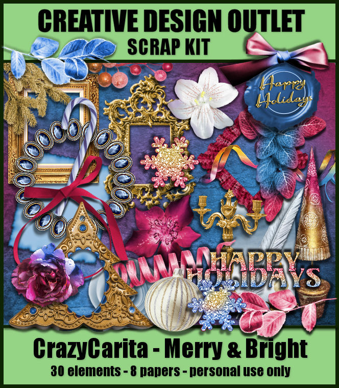 ScrapCrazyCarita_Merry&Bright-Mini