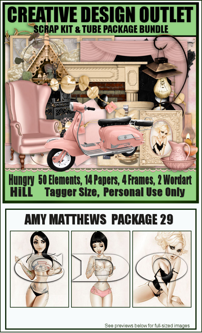 Amy Matthews Artist bundle kit Package 29