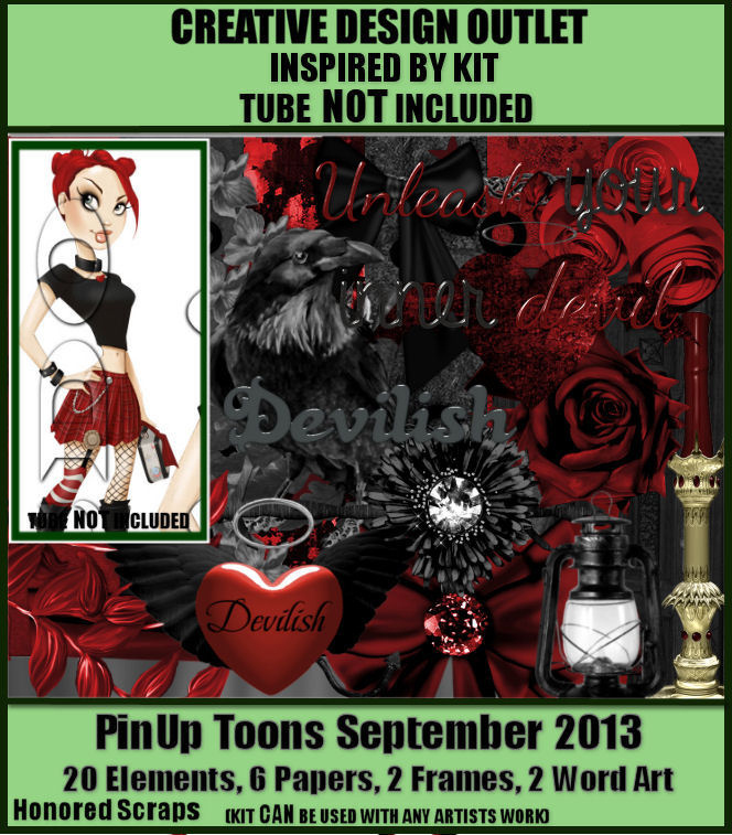 Scraphonored_IB-PinUpToonsSept2013-bt. *IB kits can not be used towards the $10 to qualify for bonus tubes*