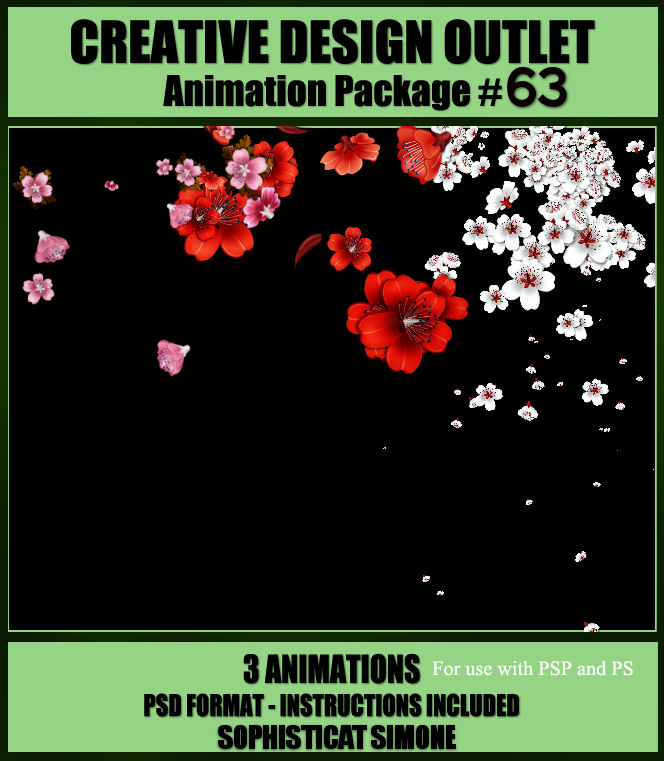 Sophisticat Simone Animation Package 63