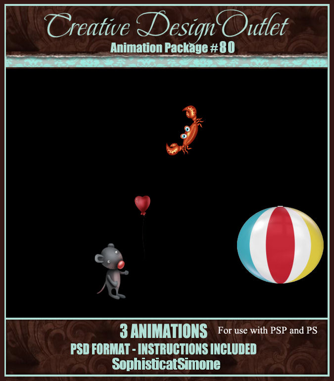 Sophisticat Simone Animation Package 80
